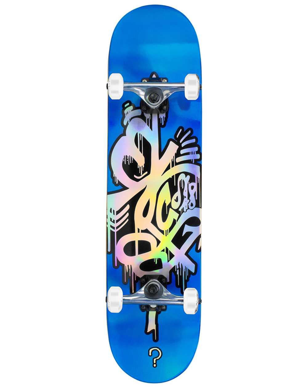 """Enuff Hologram 8.00"""" Complete Skateboard Blue"""