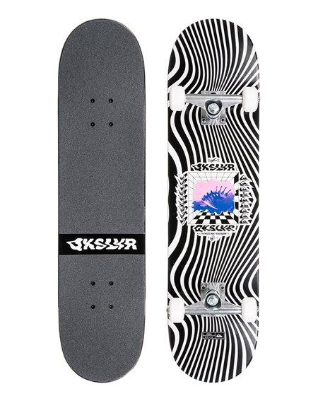 "Quiksilver Zebra 7.75"" Complete Skateboard"