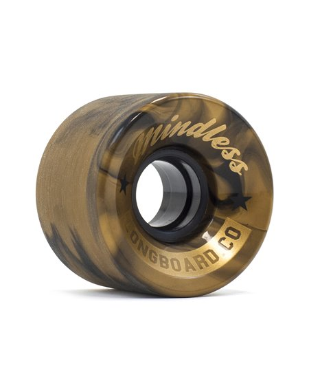 Mindless Cruiser Skateboard Wheels Swirl/Bronze pack of 4