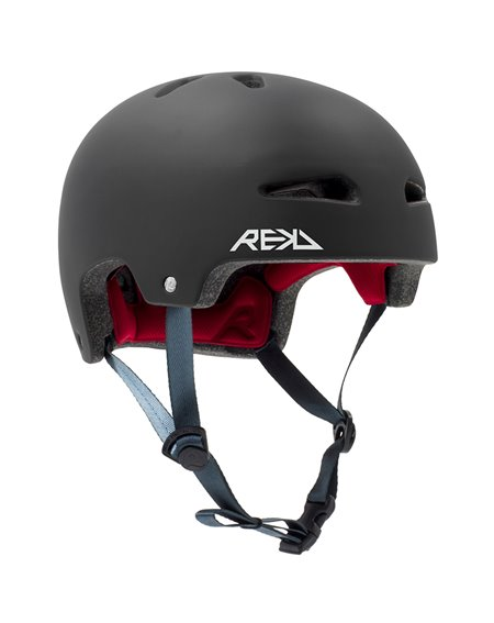Rekd Protection Ultralite In-Mold Helme für Skateboarding Black