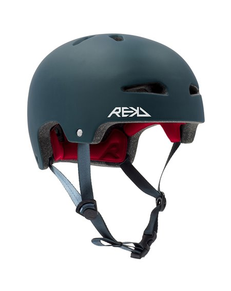 Rekd Protection Ultralite In-Mold Skateboard Helmet Blue