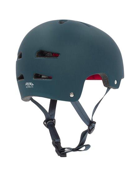 Rekd Protection Casco Skateboard Ultralite In-Mold Blue