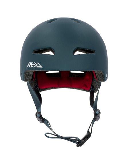 Rekd Protection Capacete Skate Ultralite In-Mold Blue