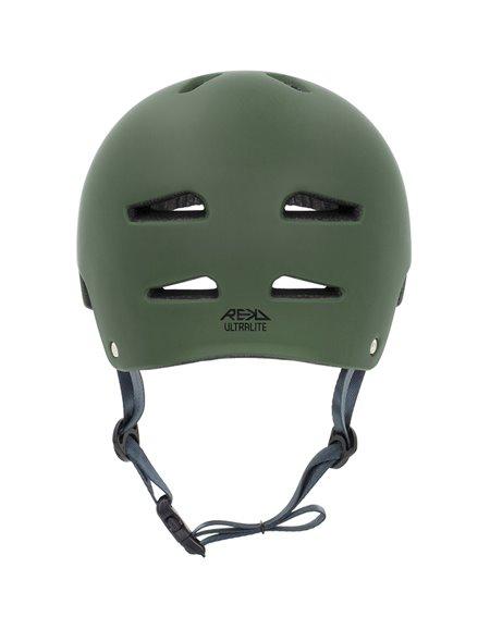 Rekd Protection Casco Skateboard Ultralite In-Mold Green