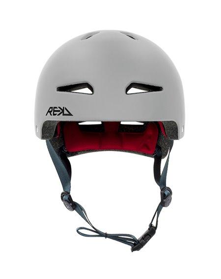 Rekd Protection Ultralite In-Mold Skateboard Helmet Grey