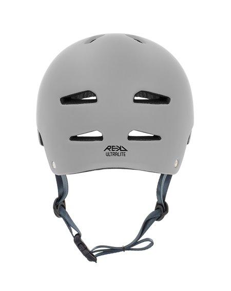 Rekd Protection Casco Skateboard Ultralite In-Mold Grey