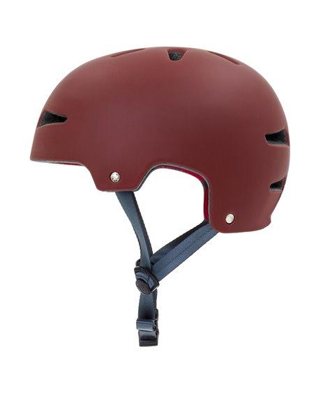 Rekd Protection Ultralite In-Mold Skateboard Helmet Red