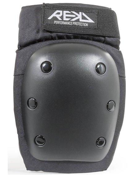 Rekd Protection Set Protezioni Skateboard Heavy Duty Black