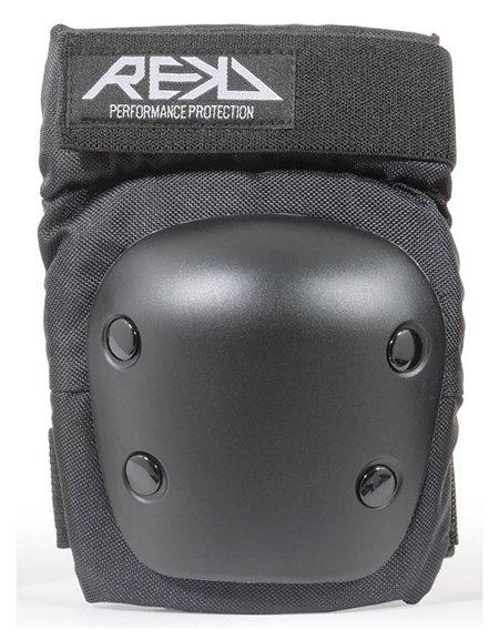 Rekd Protection Kit Proteção Skate Heavy Duty Black