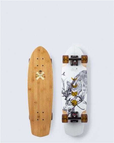 Arbor Pocket Rocket Bamboo Skateboard Cruiser