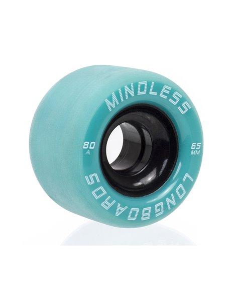 Mindless Ruote Skateboard Viper Green 4 pz