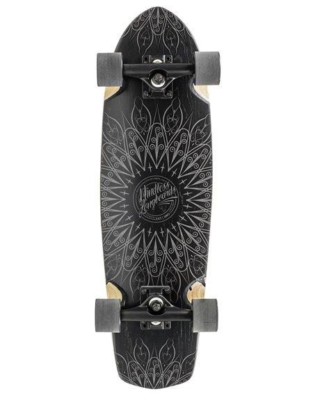 Mindless Mandala Skateboard Cruiser Black