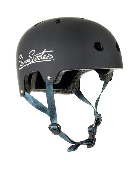Slamm Scooters Casque Skateboard Logo Black