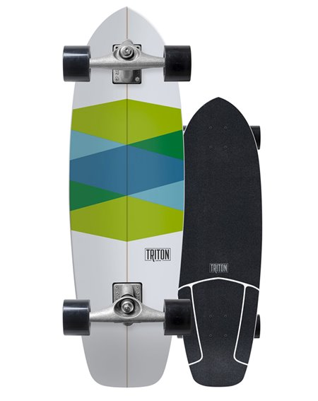 Carver Triton x Carver Green Glass Surfskate