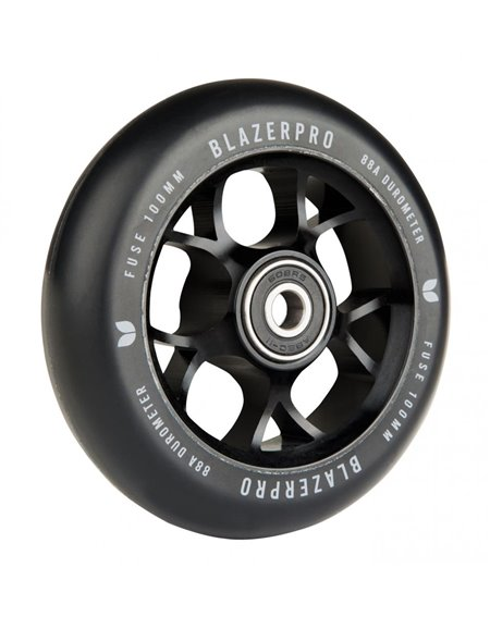 Blazer Pro Fuse 100mm Abec 11 Scooter Wheel Black