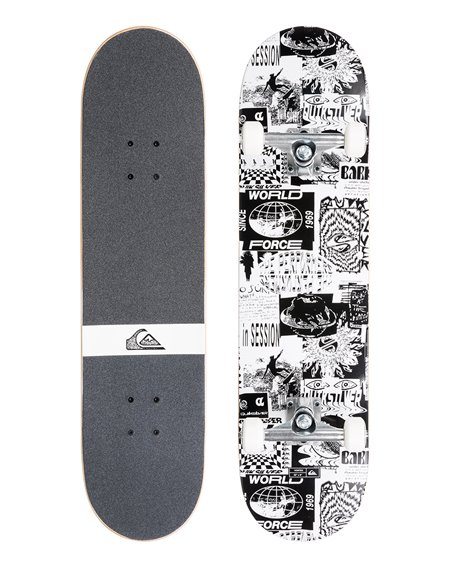 "Quiksilver Vortex 7.75"" Complete Skateboard"