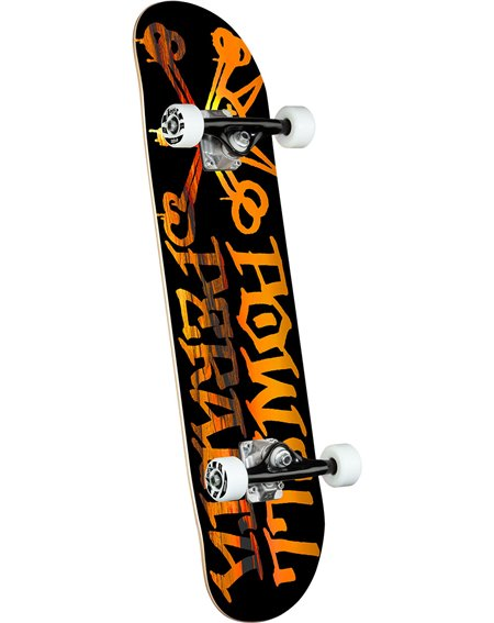 "Powell Peralta Vato Rat 7.50"" Complete Skateboard Sunset Black"