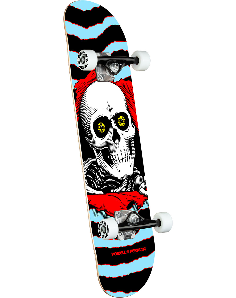"Powell Peralta Ripper 8.00"" Complete Skateboard Blue"