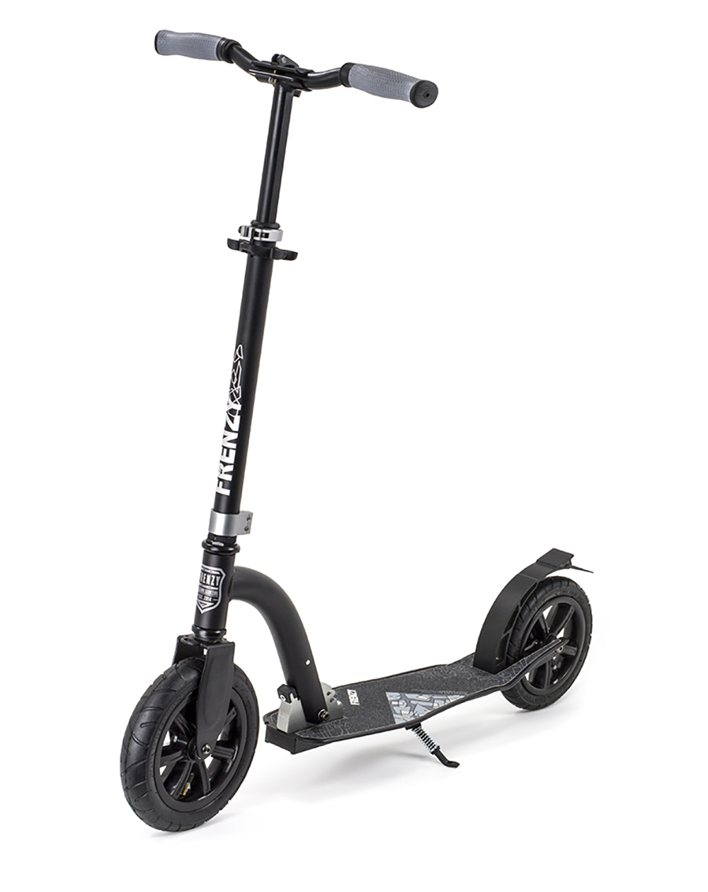 Frenzy 230mm Pneumatic Recreational Scooter Black