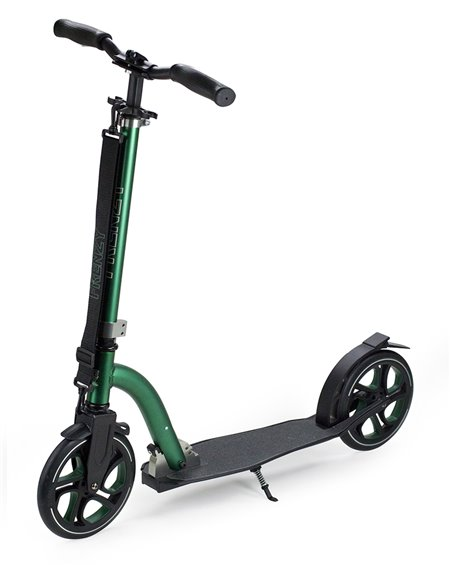 Frenzy 215mm Recreational Scooter Black/Green