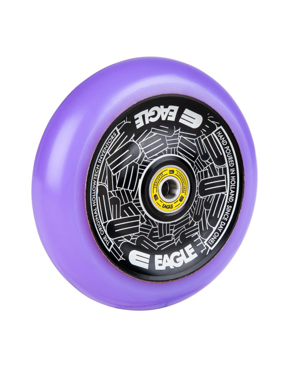 Eagle Supply Radix Eagle Hollowtech Full Core Scooter Wheel Black/Purple