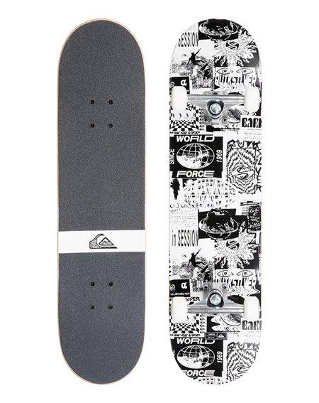 "Quiksilver Vortex 7.25"" Complete Skateboard"
