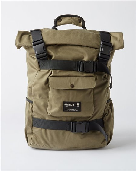 Arbor Up Cargo Backpack Burnt Olive