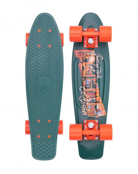"Penny Skateboard Cruiser Postcard Highland 22"""
