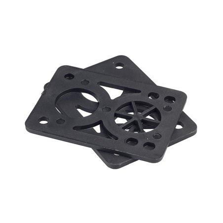 Sushi Pagoda 1/8 inch Risers Black pack of 2
