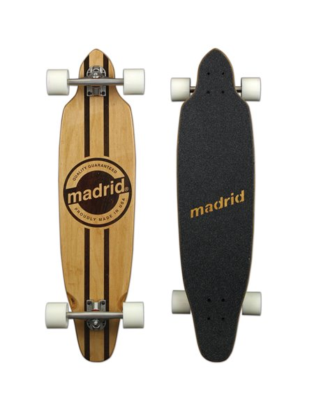 Madrid Longboard Circle Logo Maxed