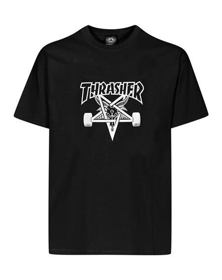 Thrasher Skate Goat Camiseta para Hombre Black