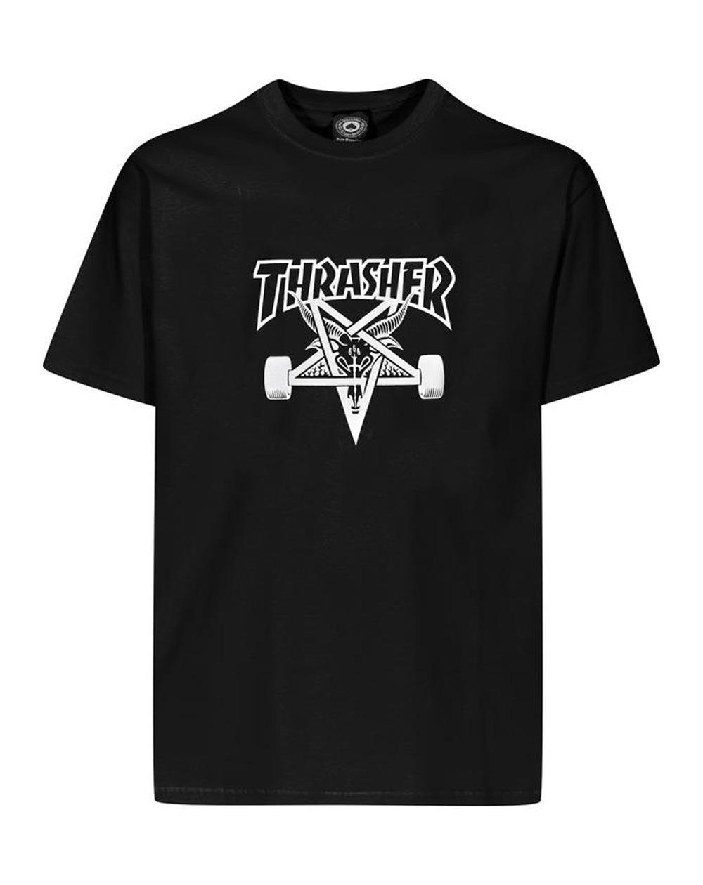 Thrasher Men's T-Shirt Skate Goat Black