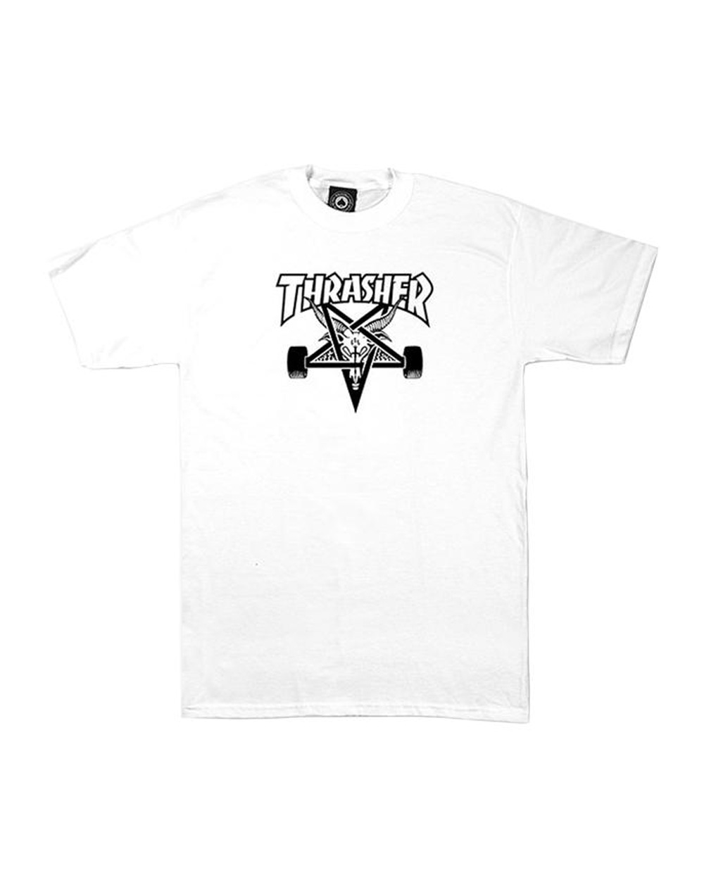 Thrasher Men's T-Shirt Skate Goat White