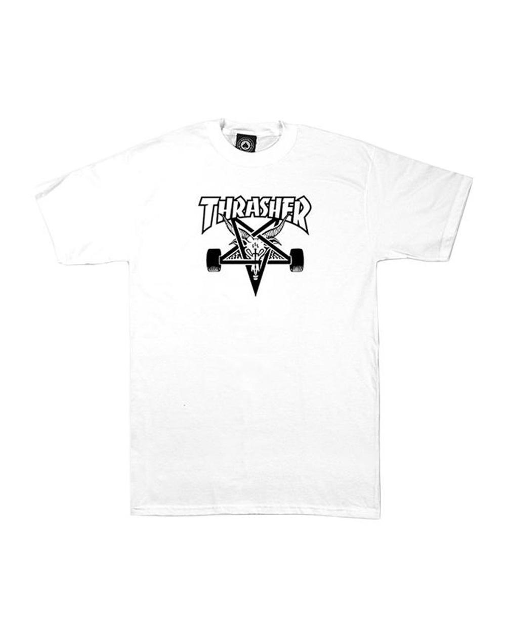 Thrasher Skate Goat T-Shirt Uomo White