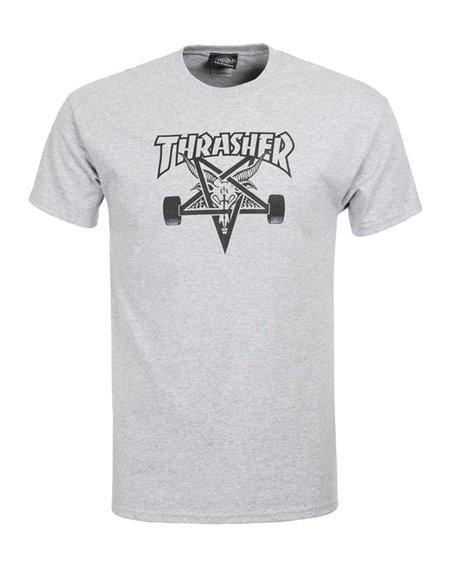 Thrasher Herren T-Shirt Skate Goat Grey