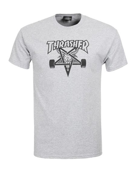 Thrasher Men's T-Shirt Skate Goat Grey