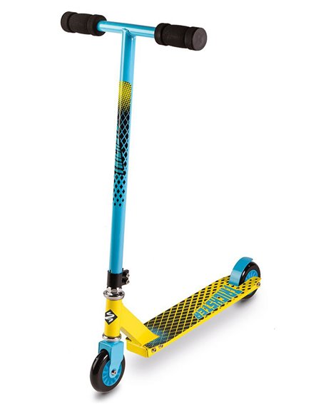 Street Surfing Monopattino Freestyle Trickster Bambino Blue/Yellow