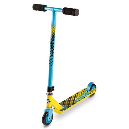 Street Surfing Trickster Boys Stunt Scooter Blue/Yellow