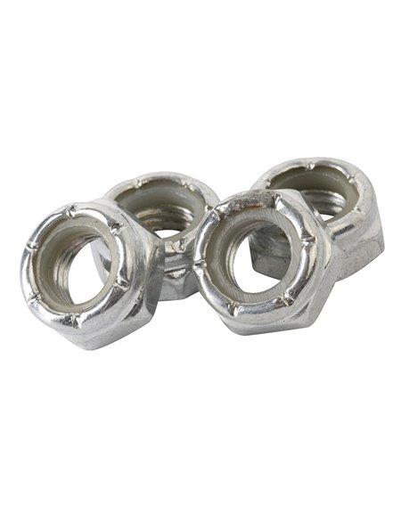 Enuff Parafusos de Rodas Axle Locking 4 peças
