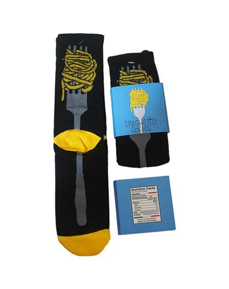 Spaghetto Socks Spaghetto Socks Calzini Uomo Black