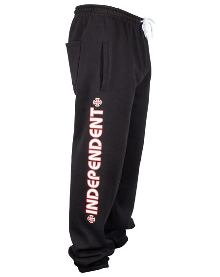 Independent Bar Cross Joggings Homme Black