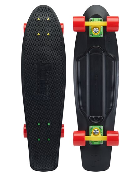 "Penny Skateboard Cruiser Classic Rasta 27"""