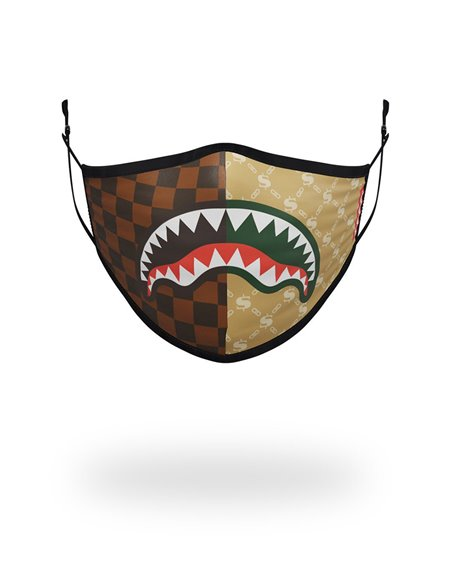 Sprayground Washable Fabric Face Mask Paris Vs Milan