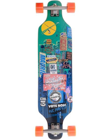 Madrid Billboard Dream Top Mount Standard Longboard