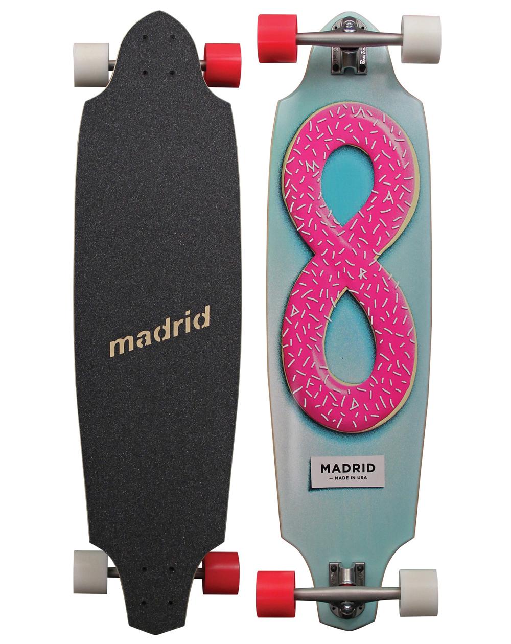 Madrid Longboard Donut Maxed