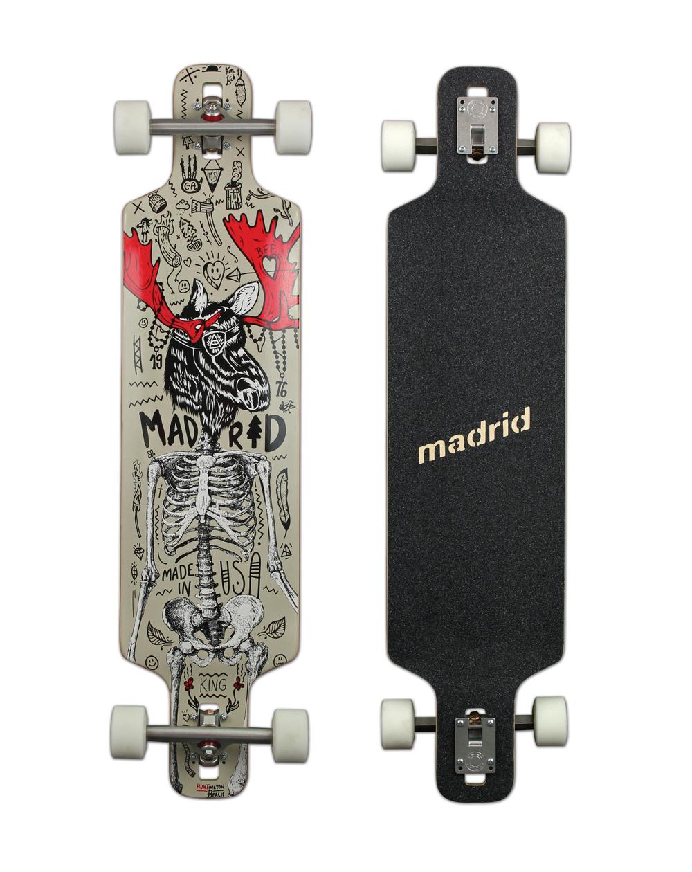 Madrid Moose Drop-Thru Maxed Longboard