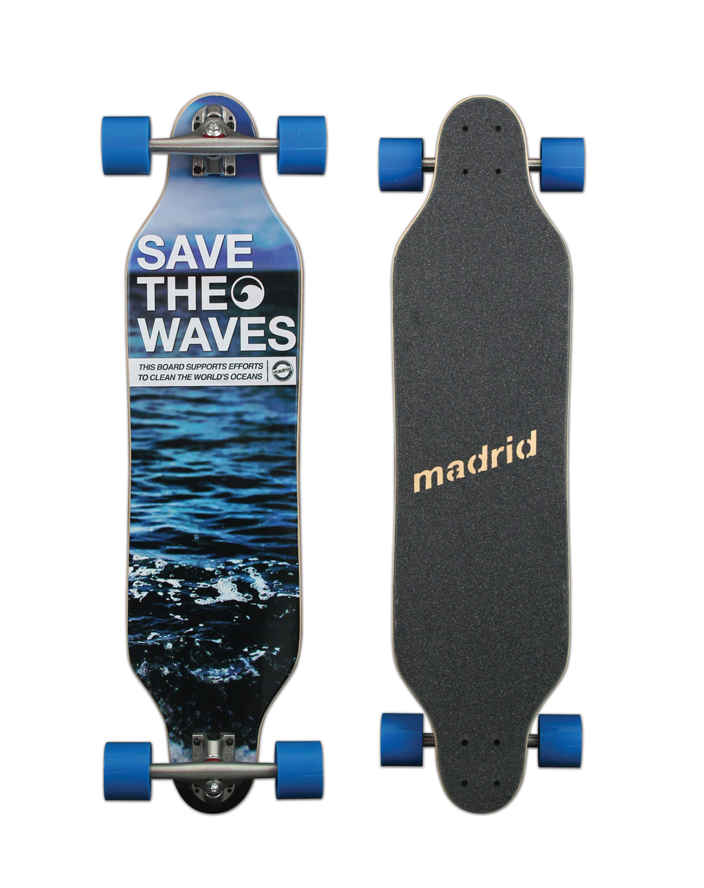 Madrid Save the Waves Maxed Longboard