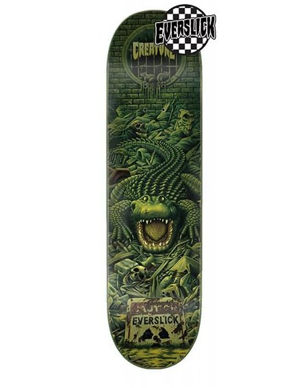 "Creature Team Haunted Sewers Everslick 8.00"" Skateboard Deck"