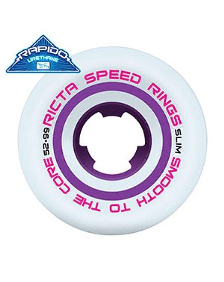 Ricta Speed Rings Slim 52mm Skateboard Wheels pack of 4