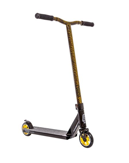 Crisp Blaster Stunt Scooter Black/Gold Cracking